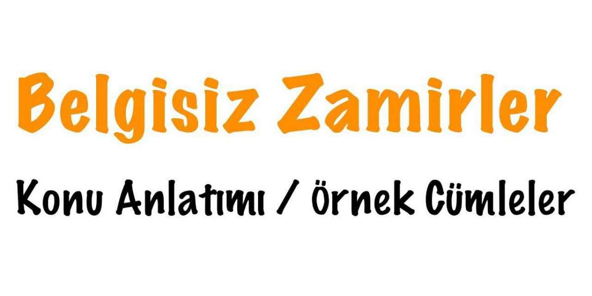Belgisiz Zamir II - Das Indefinitpronom II